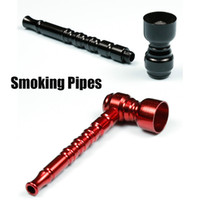 Мода Курительные трубки металлический фильтр Труба 81мм алюминиевый Курительные принадлежности Портативные Мини Трубы