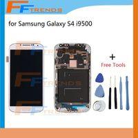 Pour Samsung Galaxy S4 i9500 i9505 I545 I337 M919 L720 R970 i9506 Écran LCD avec écran tactile Numériseur Cadre de montage