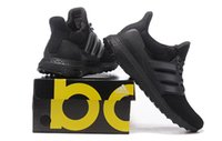 New Color Ultra Boost ALL BLACK SHOES MAN WOMAN Shoes Mens S...