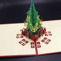 Green Christmas tree decorating cards christmas invitations ...