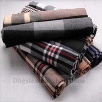 Unisex Plaids Scarves Grid Scarf Tartan Blankets Oversized C...