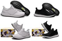 Drop Shipping 2016 Originals Black White Ultra Boost Sneaker...