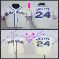 seattle mariners #2 ken griffey White 2016 Jerseys Authentic...