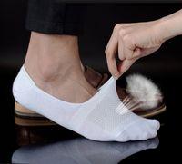 Free shipping 10 pair Fashion Socks Grey White Black Boat so...