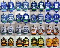Ice Hockey Jerseys Vancouver Canucks 3 Kevin Bieksa 22 Danie...
