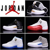 2016 New Arrival dan 12 Retro Basketball Shoes Red Black Whi...