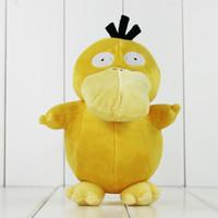 18CM Anime Poke Cute Yellow Psyduck Plush Soft Stuffed Doll ...