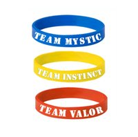 Poke Silicone Bracelet 20cm Pocket Monster 3 Team Letter Sil...