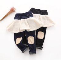 Childrens Skirt Leggings skinny trousers fashion ruffle pant...