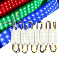 Super Brightness 3 LEDs White LED Module Light DC 12V Waterp...