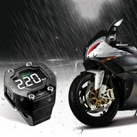 Steelmate fai da te TP-90 TPMS per gomma del motociclo Pressure Monitoring System con display LCD Wireless Sensor esterno impermeabile K2597