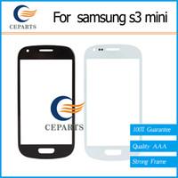Verre à écran tactile en verre pour Samsung Galaxy S3 Mini i8190
