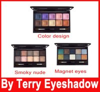 BY TERYY EYESHADOW Eye Designer Palette In #1 Smoky Nude, #2...