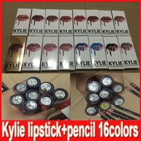Latest 16 styles KYLIE JENNER LIP KIT lipliner Lip liner pen...
