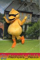 MALL110 Mascot Yellow Duck Cartoon Costume Custom Fancy Dres...