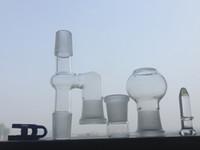 Verre adaptateur Reclaim 18mm Ash Catcher pour Bongs et Pipes en verre Reclaim Ash Catcher Adapter Sets de fumer