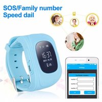 Q50 Smart Kids Montre GPS LBS Double Situation Safe Children Regarder Activity Tracker carte SOS pour Android et IOS de kindboy gratuitement DHL