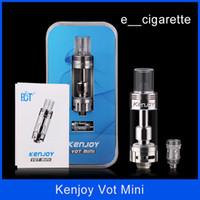 Authentic ECT kenjoy vot mini Atomizer 0. 3ohm 0. 5ohm stainle...