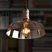 American retro industrial pendant simple creative IKEA style...
