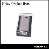 Authentique Wismec Noisy Cricket II-25 MOD W / O Batterie Noisy Cricket 2 Circuit optionnel en série et parallèle 100% Original