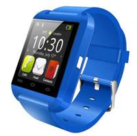 U8 Bluetooth inteligente Miro U relojes de pulsera del reloj de SmartWatch táctil para el iPhone 4 4S 5 5S Samsung S5 S7 HTC Andriod Smartphones 5 colores DHL