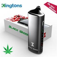 Authentic cire 3in1 Black Widow Kingtons mods de vapeur aux herbes sèches kit boîte mod vaporisateur à base de plantes e jus de liquide vape e cigarettes Kits DHL TZ703