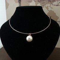 Fashion Pearls Rhinestones Necklaces Bridal Jewelry For Wedd...