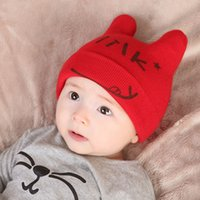 Spring Autumn Winter crochet Cotton knitted baby infant ear ...