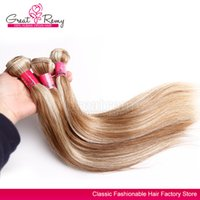 #613- #18 piano hair weave FREE shipping 3pcs silky straight ...