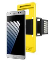 Para Correr Iphone 7 Caso brazalete deportivo del sostenedor del teléfono celular portátil Gimnasio Brazo caja de la correa de la venda para Iphone 7 más