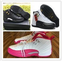 Cheap Basketball Shoes Retro XII 12 Taxi French Blue The Mas...
