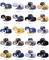 2016 New Basketball Warriors Snapbacks Flat Brim Caps Blue M...