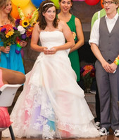 Wholesale Rainbow Wedding Dress - Buy Cheap Rainbow Wedding Dress ...