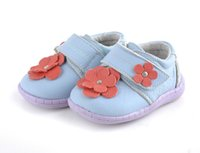 Handmade Baby Shoes Genuine Leather Flower Pigskin Linning B...