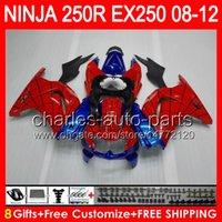 8gifts+ Body For KAWASAKI NINJA ZX 250R EX250 08- 12 TP12 ZX25...