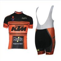 new style KTM men' s cycling Jersey sets with short slee...
