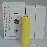 18650 batterie 2500mah 3.7v rechargerable batterie de gros