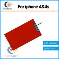 Rétro-éclairage de haute qualité Refurbish pièces de rechange Nouveau rétro-éclairage de l'écran LCD pour Apple iPhone 4 4s