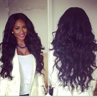180% Lace Front Human Hair Wigs Wavy curly 300 thick Density...