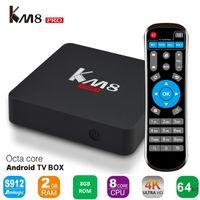 Android 6. 0 TV BOX KM8 PRO Amlogic S912 2GB 8GB BT4. 0 2. 4G 5...