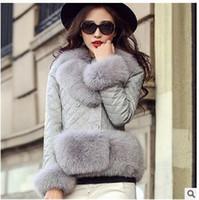 2016 Winter Women Plus Size Faux Fur Coat Fashion Short Fur ...
