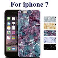 Haute qualité TPU Marbre peau pour iPhone 7 Cover Case Protector Mobile Phone Shell pour l'iPhone 5S 6 4,7 plus 5,5 pouces SCA212