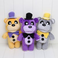 3pcs lot 30cm five nights at freddy FNAF Golden Freddy Night...