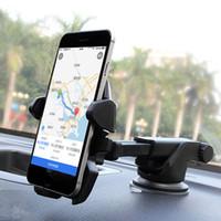 Support de voiture support titulaire de téléphone portable voiture hoder Support GPS nouveau 360 degrés universel rotatif pour tableau de bord et pare-brise