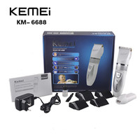 KEMEI KM6688 Hair Trimmer Clipper KM- 6688 Rechargeable Elect...
