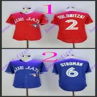 toronto blue jays #1 troy tulowitzki Red #2marcus stroman 20...