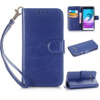 Caso P8 libro de la carpeta cuero de la tarjeta de crédito 3 Ranura de la PU del bolso del bolsillo para Huawei P8 Y6 Y6 Pro