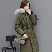 2016 winter woment coat big size jacket fox fur collar 90% w...