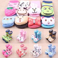 Hot Wholesales Cute Animal Kids Socks with Bell Cotton Fabri...