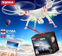 Syma originale X8W 2.4G 6 Axis Gyro 4CH RC FPV Quadcopter RTF Wifi Drones professionnels avec 2.0MP caméra HD Helicpoter nouvelle
